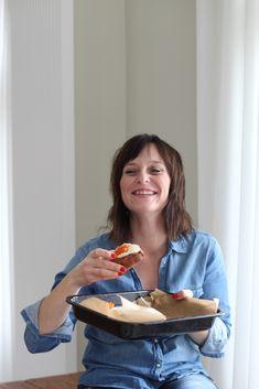 Slivková galette s makom - Zdravé pečenie Healthy Cookies, Paleo, Food And Drink, Gluten Free, Cooking, Fitness, Desserts, Recipes, Basket