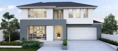 Capri 15m wide double storey home design