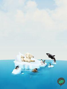 Islands of the World by Julian Burford, via Behance