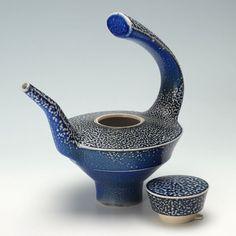Jeremy Nichols Tea Pot with Lid Off