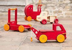 Moover: blokkendoos en poppenwagentje