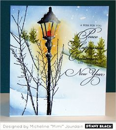 Card above also features 30-382 Yuletide Wishes, 40-484 Into the Sky, 30-379 Woodland Beauty | mimi