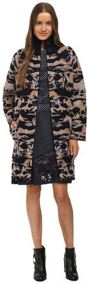 See by Chloe Jacquard Coat Cardigan - Shop for women's Cardigan