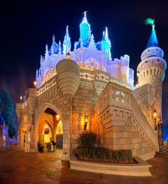 Cinderella's Castle  -angle