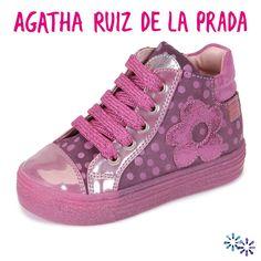 AGATHA RUIZ DE LA PRADA - Shoes Flower Fucsia También en coralkids - Tallas 24 a 32 Prada, Hot Pink, Footwear