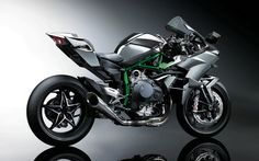 Kawasaki reveals new H2R - Photo Gallery - Cycle Canada Right side View, Note the under slung exhaust. 300 horse power