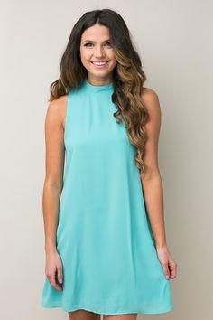 Desert Ties Mint Dress | Dress Up