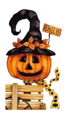 vintage halloween clip art cute little pumpkin in 2018 fall fest