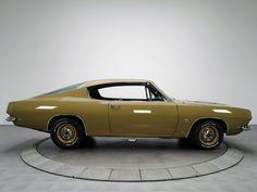 Plymouth Barracuda Formula S 1968.  At 16, I was driving this car.