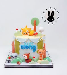 Cake Cookies, Cookie Recipes, Fondant, Little Girls, Cakes, Decorating, Sweet, Woods, Pastries