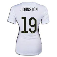 2015 World Cup USA Julie Johnston 19 Women Home Soccer Jersey
