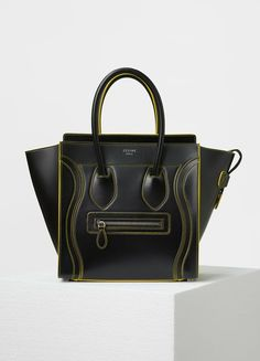 c3d558f300aa Micro Debossed Luggage Handbag in Satin Calfskin - Céline Bag Closet