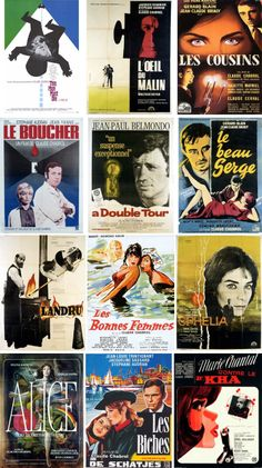 Movie Posters of the Week: Early Chabrol on Notebook | MUBI