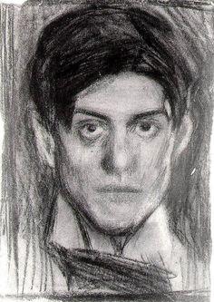 Self-portrait, 1900 Pablo Picasso