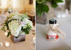 Maple syrup wedding favors Sarah Postma Photography www.sarahpostma.com