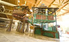 Fort Mackenzie is Great Wolf Lodge's signature interactive tree house that turns splashing into an adventure.