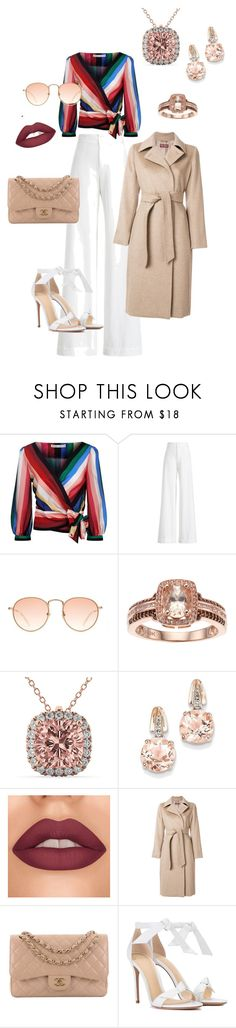 """""""The classic never goes out of style!"""" by styledatbeatitude on Polyvore featuring Alice + Olivia, Ralph Lauren Collection, Allurez, BillyTheTree, MaxMara, Chanel and Alexandre Birman"""