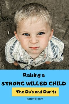 How to parent strong-willed children takes knowledge, courage, tenacity and determination, endurance and above all, a positive mindset. Parenting Memes, Parenting Advice, Kids And Parenting, Parenting Strong Willed Child, Kids Behavior, Child Behaviour, Potty Training Tips, Natural Parenting, Raising Boys