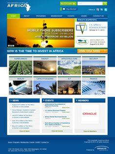 Investing, Africa, United States, Organization, Website, Business, Getting Organized, Organisation, Tejidos