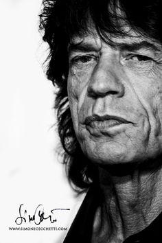 Mick Jagger by Simone Cecchetti