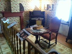 The parlor in the Creole House. Photo courtesy of Christopher Martin. Randolph County, IL.