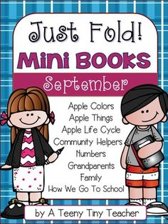 These Just Fold! Mini Books are exactly that! No collating, no stapling -- Just Fold! They can be used in a variety of ways. Use them at your Work on Writing station during Daily 5, as a center activity, a whole group activity, in your guided reading time with a small group, as an intervention, or e...