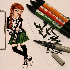 Jour 25: Tenue d'Halloween inspirée par la belle Rebecca de @aclotheshorse Day 25: Halloween outfit inspired by the beautiful Rebecca of @aclotheshorse #inktober #frenchinktober #illustration #pentel #ink #promarker #skeleton #outfit #ootd #halloween