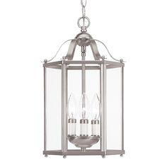 Sea Gull Lighting 5231 3-Light Convertible Bretton Hall Foyer Light | Lowe's…