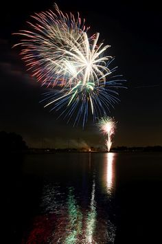 Fireworks. Coppell, Texas.