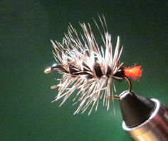 Black Woolyworm Fishing Fly by Call of the Wild Flies on Etsy, $1.95