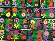 Warhol flowers-kindergarten-Art with Mr. Giannetto blog