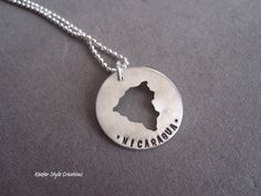 Nicaragua Hand Stamped adoption/mission by KeeferStyleCreations, $48.00