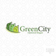 """Green City"" logo design by MW Creative Design / Maria Williams"