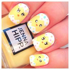 Make your Nails do the Talking with This Ultra-modern Collection of Easter Nail Art Designs Nail Design Spring, Spring Nail Art, Spring Nails, Summer Nails, Fingernail Designs, Toe Nail Designs, Nail Polish Designs, Gel Polish, Nails Design