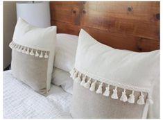 Handmade Pillow Covers, Decorative Pillow Covers, Handmade Pillows, Throw Pillow Covers, White Decorative Pillows, White Pillow Covers, White Throw Pillows, Diy Pillows, Boho Pillows