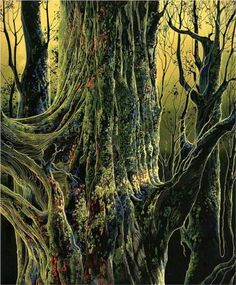 Ancient Tree | Eyvind Earle | 1992