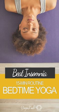 Struggling to relax before bed and/or staying asleep at night?This easy yoga flow for better sleep will help you wind down after a long day and get some good shut-eye in as short as 15 minutes.