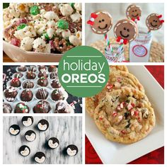 30 Oreo Recipes That You Have To Make This Holiday Season! - Pamela Jones - 30 Oreo Recipes That You Have To Make This Holiday Season! 30 Oreo Recipes That You Have To Make This Holiday Season! Holiday Candy, Holiday Baking, Christmas Desserts, Holiday Treats, Christmas Treats, Christmas Baking, Holiday Recipes, Christmas Candy, Xmas Food