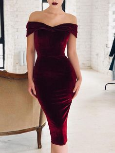 a7f2bda442e Shop Off Shoulder Ruched Velvet Party Dress – Discover sexy women fashion  at IVRose. evening dresses