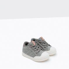 Zapatos grises Fallen infantiles lxI9idY