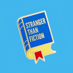 A new enamel pin for those days when life is stranger than fiction...  TheseAreThings.com #pingame