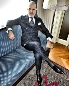 uit and shirt by Tie by Bespoke loafers by Bracelets by Watch by Sharp Dressed Man, Well Dressed Men, Mens Fashion Suits, Mens Suits, Gents Fashion, Finsbury Shoes, Bespoke Shirts, Designer Suits For Men, Tailored Suits