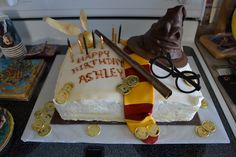 Harry Potter cake!  Made by Michelle Hood.