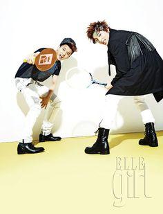 B.A.P - Elle Girl Magazine