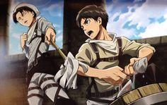Levi et Eren - L'attaque des Titans