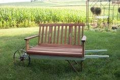 Ok, I'm on a wheelbarrow bench Roll.... There are a couple more examples on this board. These are so clever!