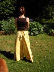 wrap around pants tutorial