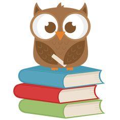 School Owl  SVG cutting file for scrapbooking free svg cuts free svg cut files cute cut files for cricut