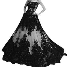 D.W.U Black White Lace Wedding Dresses Gothic Bridal Gown... https://smile.amazon.com/dp/B01M7R4XF0/ref=cm_sw_r_pi_dp_x_wG.EybBDHN6XD
