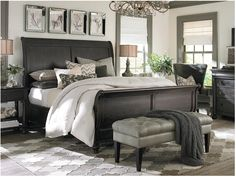 Cavallino King Mansion Poster Bed with Storage Footboard by ...